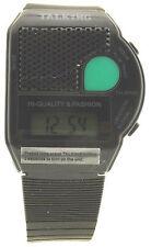 Talking Watch, Quarzuhr, LCD Display, Alarm