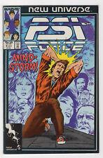 Psi-Force #9 (Jul 1987, Marvel) [New Universe] Nicieza Bob Hall Mark Texeira v