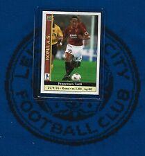 2000/2001 Mundicromo Serie A Calcio : Francesco Totti - AS Roma (Early)