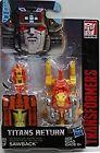 HASBRO Transformers Action Figure TITANS RETURN TITAN MASTER [SAWBACK]  in stock