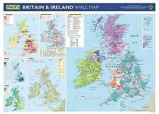 Philip's Britain and Ireland Wall Map: School Edition, , Good, Hardcover