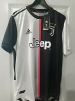 Adidas Authentic Juventus Home Soccer Jersey Men's Large $130 DW5456 Black White