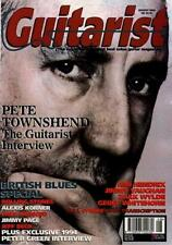 Who Pete Townshend UK 'Guitarist' Interview Clipping TRANSPARENCY