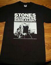 Stones Scorsese Shine A Light Concert Tour Fender Make History Shirt S Rolling