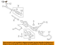FIAT OEM 17-18 124 Spider Steering Gear-Outer Tie Rod Clip 68313913AA