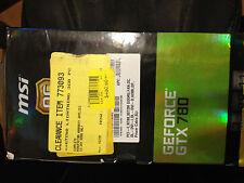 MSI NVIDIA Gtx N780 Lightning OC Certified No Limits