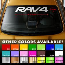 "Premium Windshield Banner Vinyl Decal Sticker 31.5x5"" for TOYOTA RAV4 RAV-4 SUV"