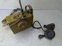 Vintage Soviet Russian USSR Field Radio Operator Handset Headphone R-126