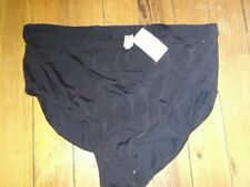 Women's Size 28 Plus Black Swimsuit Bottoms New With Tag