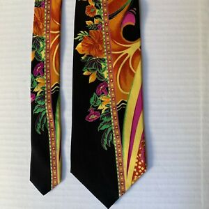 Men Vitaliano Pancaldi Tie Italy Abstract Bold Colorful Necktie Luxury Ties
