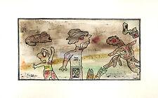 Apesanteur  - aquarelle et encre sur papier aquarelle