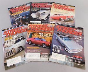Street Thunder Magazine Set of 6 Street Rod Muscle Car Magazines Full Year 2007