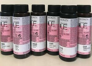 Redken Shades EQ Gloss Equalizing Conditioning Color, 3x 60ml, Choose Shade
