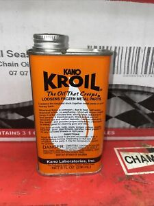 Kano Kroil 8 ounce Penetrating Oil - Creeps and Loosens Frozen Metal Parts New