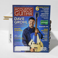 ACOUSTIC GUITAR MAGAZINE DAVE GROHL FOO FIGHTERS RALPH TOWNER August 2006 LUNA