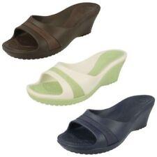Zapatos de tacón de mujer plataformas de color principal blanco