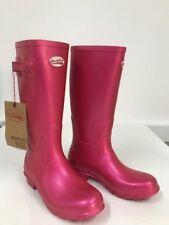Rockfish Wellies Kids Wellington boots Metallic Blush - child size 4