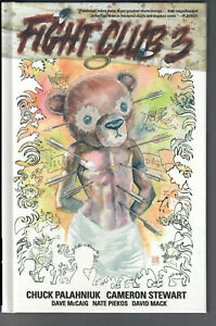 FIGHT CLUB 3 - Grade NM - Graphic Novel Signed and decorated by Chuck Palahniuk!