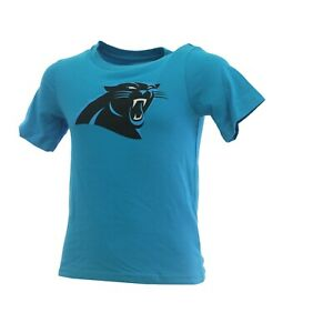 NFL Carolina Panthers Kids Youth Size Team Apparel Official T-Shirt New With Tag