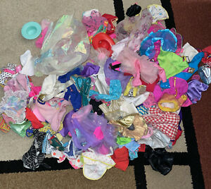 Barbie And Barbie Sized Doll Clothes Lot