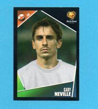 PANINI-EURO 2004-Figurina n.118-NEVILLE-INGHILTERRA-NEW BLACK