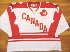 VINTAGE RETRO NIKE TEAM CANADA 1974 OLYMPIC HOCKEY JERSEY SIZE 2XL