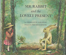 """Mr. Rabbit and the Lovely Present"" FIRST EDITION Illustrated by MAURICE SENDAK"