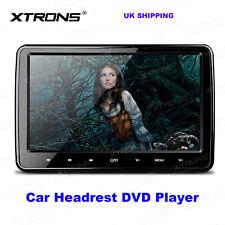 "10.1"" Car Headrest DVD Player Monitor HDMI Touch Button FM IR Speaker USB SD TV"