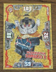 Lego ninjago™ Series 3 Limited Edition LE7 Heldenhafter Samurai X Misprint
