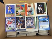 Flat Rate Box Of Cards Huge Sports Card Collection Baseball Basketball Football