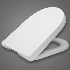 WC Sitz Toilettendeckel Kunststoff ABSENKAUTOMATIK Toilettensitz Deckel WS2544