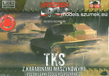 First to Fight 015 Polish Light Tank (tanquete) TKS with machine gun 1/72