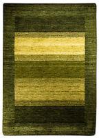 fantastique Tapis Gabbeh tailles diverses beaucoup de couleurs laine vert bleu