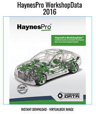 Haynes Pro Garage Workshop Data 2016 - Instant Download - VirtualBox Image