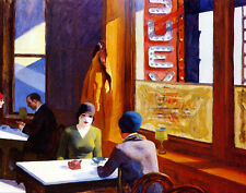 Hopper Edward Chop Suey Canvas 16 x 20   #4736