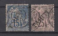 Bi6329/ FRENCH TAHITI – Y&T # 12 – 15 USED – CV 135 $