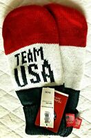 NWT * Team USA  * RED WHITE & BLUE * Adult MITTENS Winter One size fit most WARM