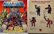 MASTERS UNIVERSE MOTU HE-MAN MINI COMIC ULTIMATE BATTLEGROUND '86 GIVEAWAY PROMO