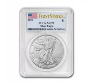 2021 american silver eagle PCGS MS70 First Strike