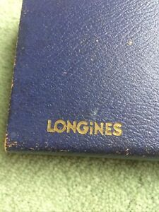 Vintage Longines Box