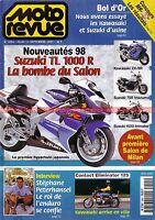 MOTO REVUE 3294 SUZUKI TL 1000 KAWASAKI GPZ 500 ZX-9 KTM 125 250 SX  200 300 EXC
