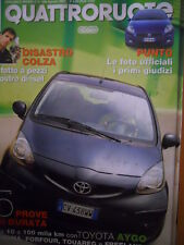 Quattroruote 598 2005 5 prove Toyota Aygo - Croma - Forfour - Touareg  [Q44]