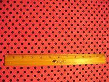POLKA DOT HOT PINK COTTON FLANNEL FABRIC OOP FQ