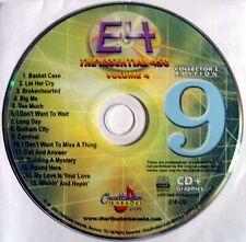 Chartbuster Essentials Karaoke - Volume 4 CDG - Disc 9