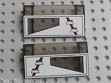 LEGO STAR WARS Slope bricks ref 3939px1 & 3939px2 / Set 7259 ARC-170 Starfighter