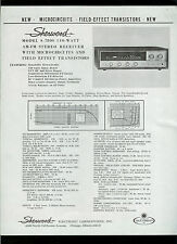Collectible Sherwood S-8800/7800 Stereo FM Receiver Dealer Brochure Info Ad