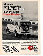 1971 INTERNATIONAL SCOUT / BILL JENKINS ~ ORIGINAL HOOKER HEADER AD