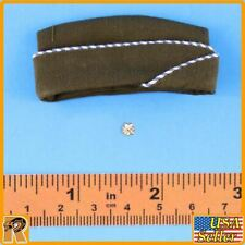 WWII US Army Officer B - Side Cap w/ Badge - 1/6 Scale - Alert Line Figures