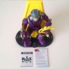 Heroclix Galactic Guardians set Master Mold #G003 Super Booster figure w/card!