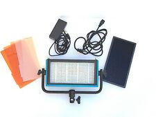 Dracast LED 500 Pro Daylight BUNDLE w/gels, grid, V Batt Mount, etc, OPEN BOX